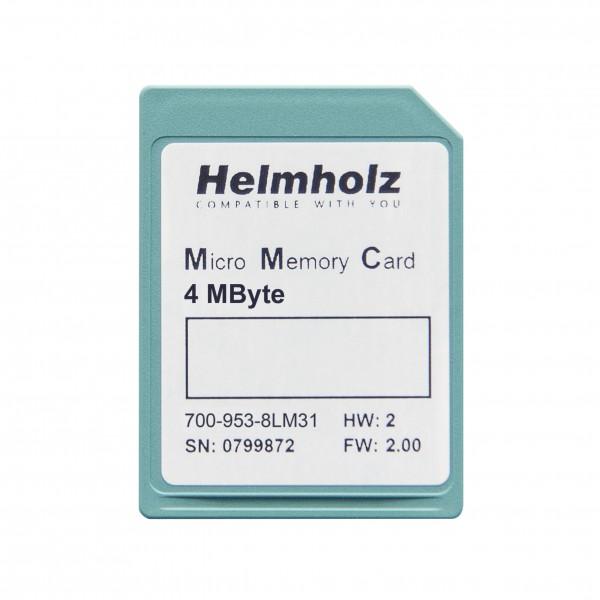 Micro Memory Card (MMC) 4 MByte für S7-300