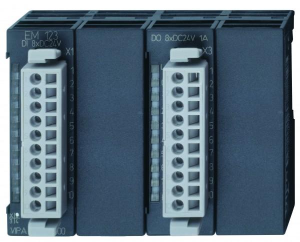 EM 123 - Erweiterungsmodul, Digital, 8DI,8DO