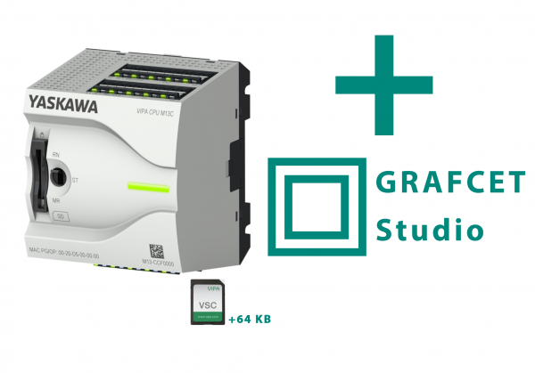 GRAFCET-Studio Pro (100 Schritte)+MicroPLC+64KB