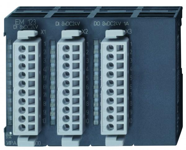EM 123 - Erweiterungsmodul, Digital, 16DI, 8DO