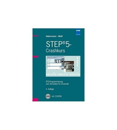 Buch STEP5 Crashkurs 4. Auflage inkl. CD-ROM