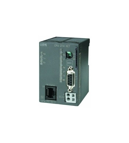 CPU 214NET - SPS-CPU