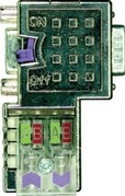Metall-Profibus-Stecker EasyConn ohne Diagnose-LEDs, 90 Grad