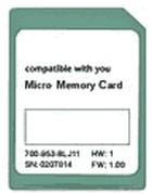 Micro Memory Card (MMC) 1 MByte für S7-300