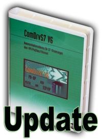 Update auf ComDrvS7 V6.2 Extended - Lizenz für 1 Entwickler